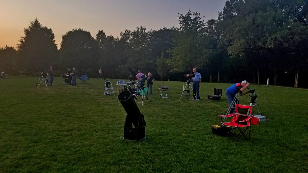 To maximize your experience in outreach, consider joining a local amateur astronomers club.