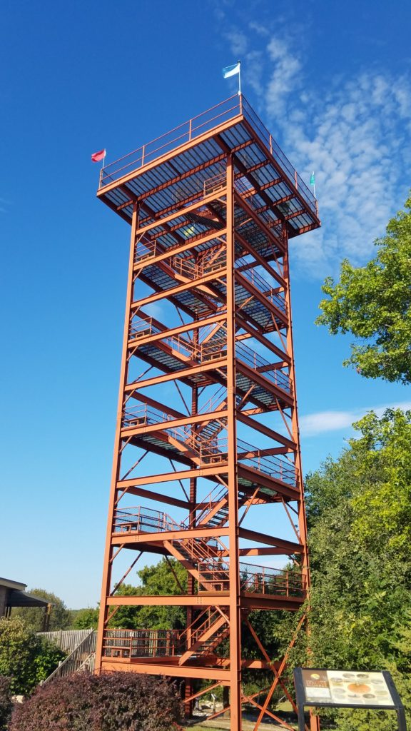 I chose the Platte River State Park's 85-foot observation tower  to test the performance of the Tactical Mini mast.
